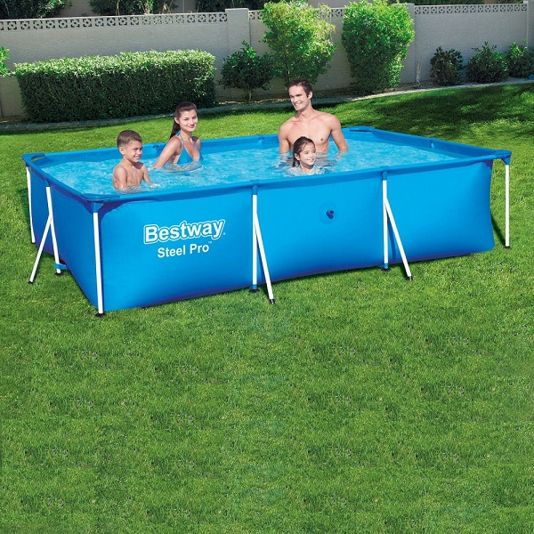 Bestway Deluxe Splash Pool 3.0 x 2.01 x 0.66m, 3300ltr - 56404