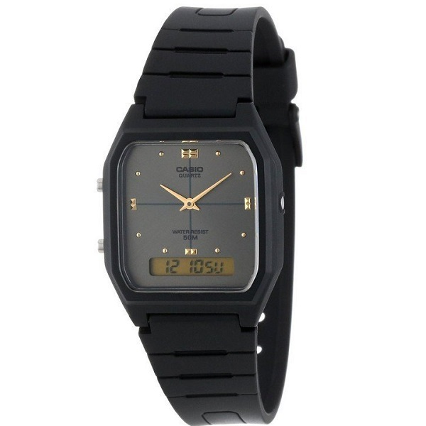 Casio Black Analog Digital Casual Watch for Men – AW-48HE-8AVDF